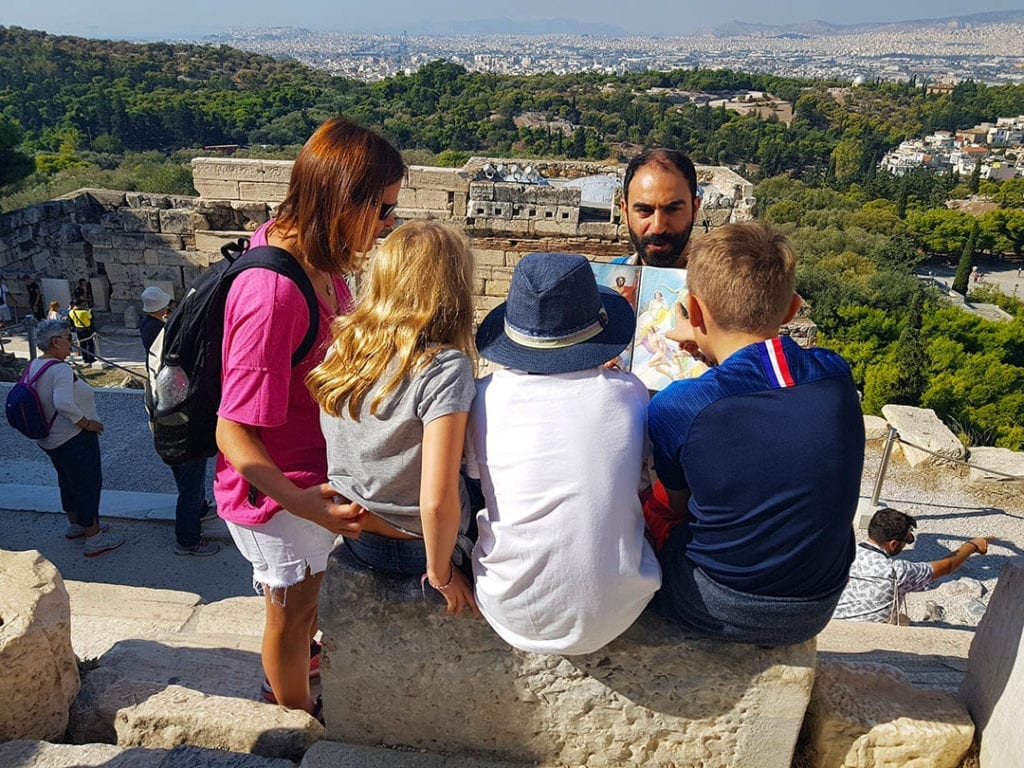 Private family tour of the Acropolis and museum